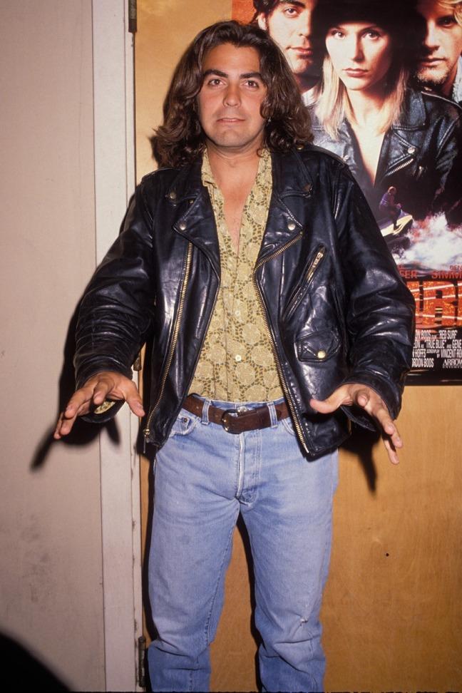 George Clooney in 1990