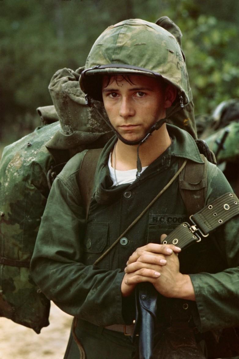 Young Marine in Da Nang, Vietnam - August 1965