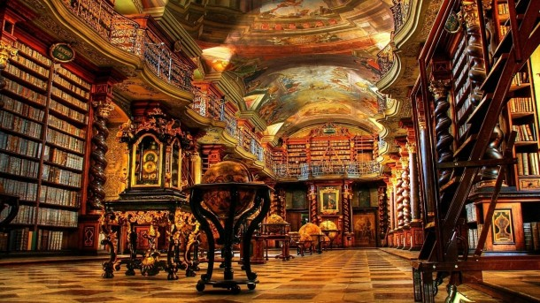 Library in Prague