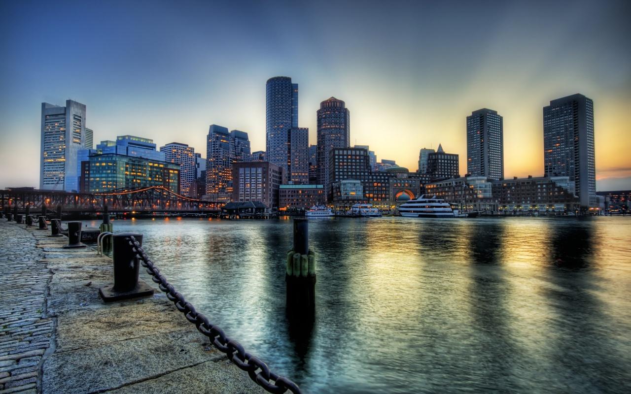 Boston dusk