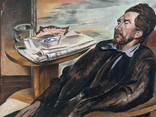 Ezra Pound (1939) by Wyndham Lewis