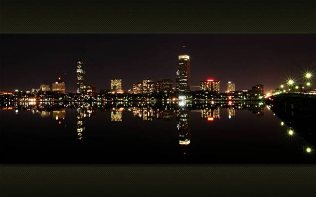 Boston and the Charles River.