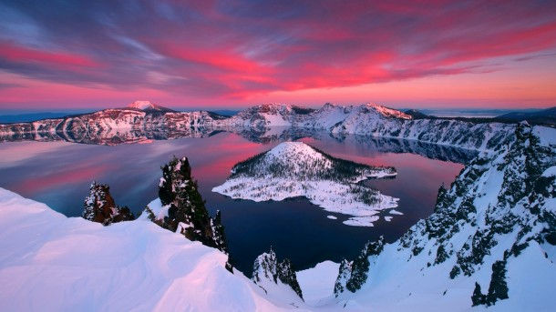 Crater Lake,Oregon