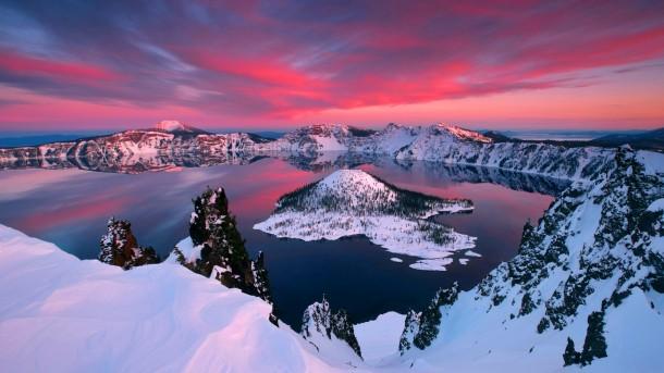 Crater Lake,Oregon