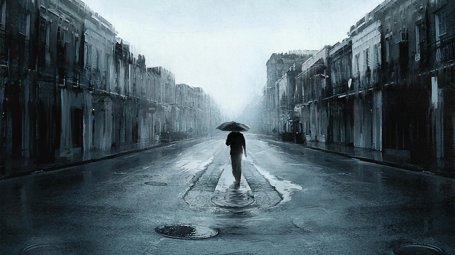 Walling In The Rain