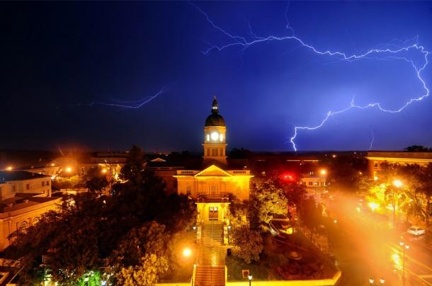 Lightning in Athens, Georgia