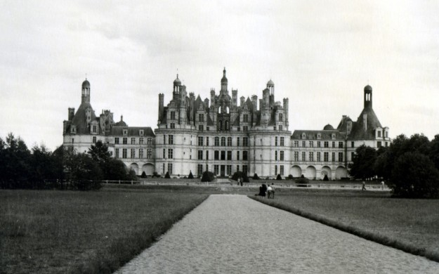 Chambord Castle in Chambord, France