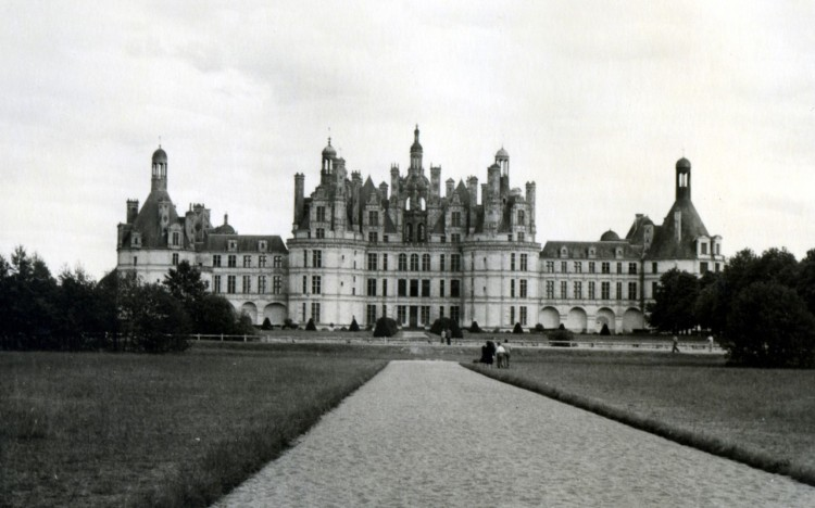Chambord Castle in Chambord, France