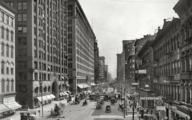 State Street, Chicago - 1907
