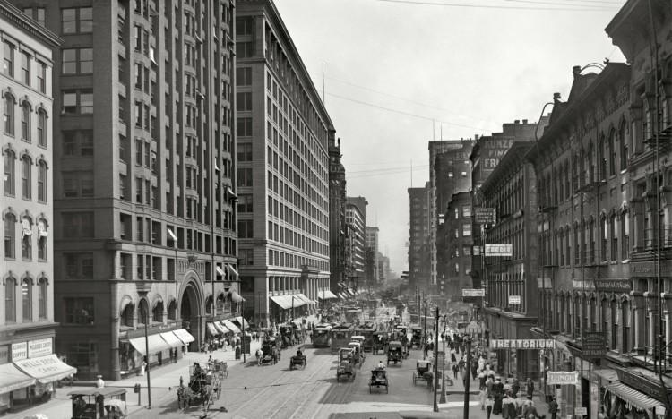 State Street, Chicago - 1907
