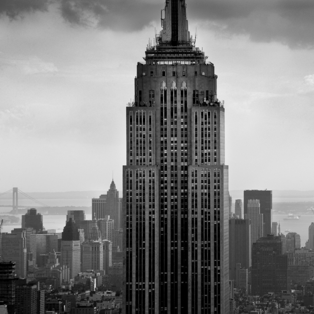 a history of the empire state building in new york city List of tallest buildings in new york city midtown manhattan skyline, looking north (uptown) from the empire state building midtown manhattan in the distance photo taken at the original.