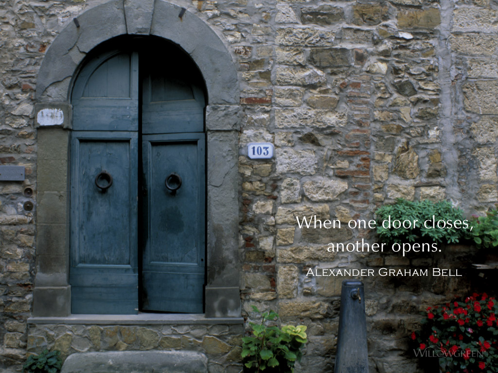 When One Door Closes A Pondering Mind