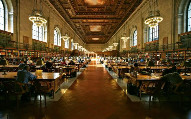 Grand Study Hall, New York City Public Library