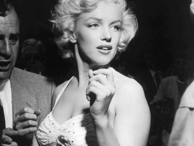 Marilyn Monroe in New York City