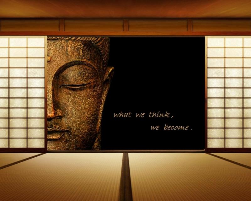 text quotes zen buddha think wooden floor 1280x1024 wallpaper_www.wallpaperhi.com_79