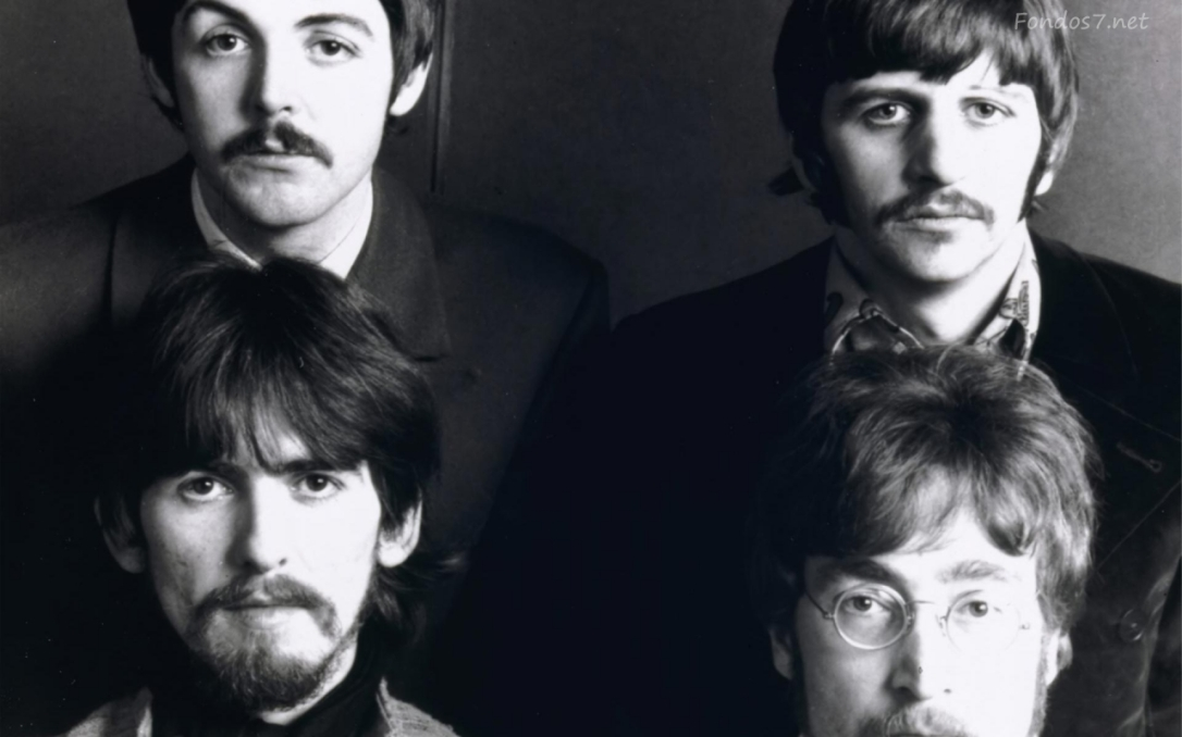 The Beatles - Paul McCartney, Ringo Starr, George Harrison and John Lennon.