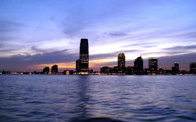 Jersey City, New Jersey Skyline