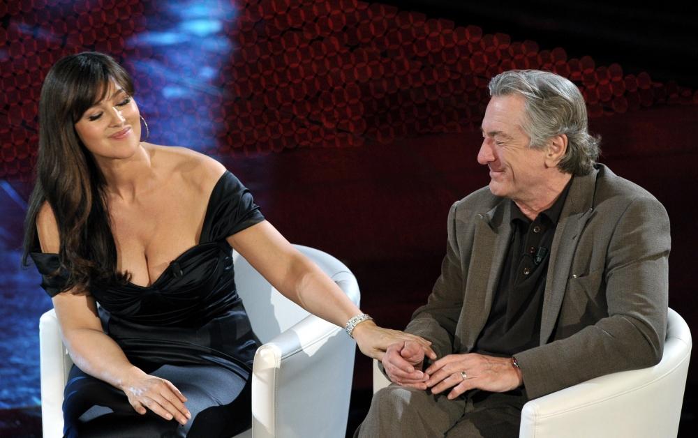 Monica Bellucci and Robert De Niro