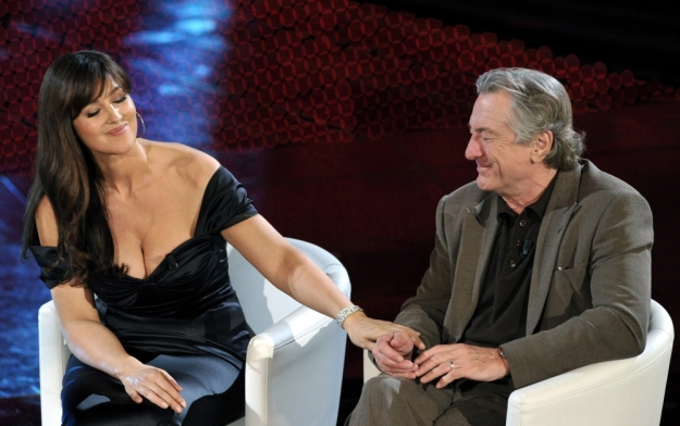 Monica Bellucci and Robert De Niro