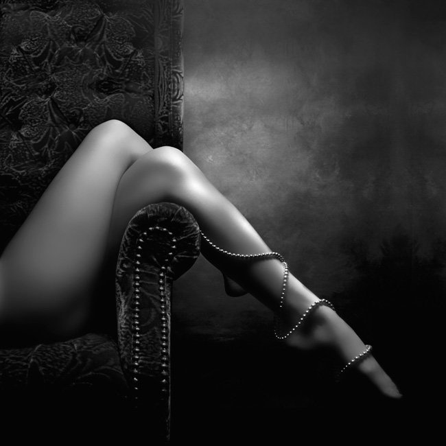 Legs and pearls