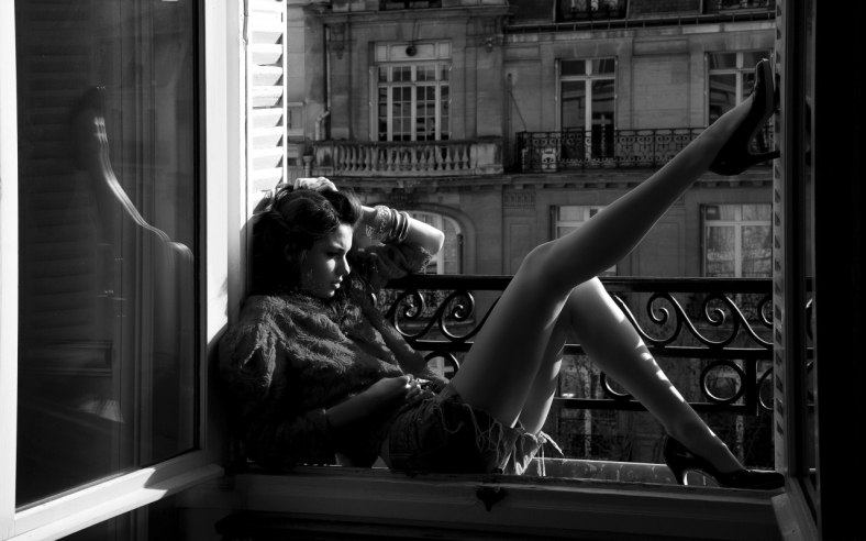Beautiful Girl Thinking