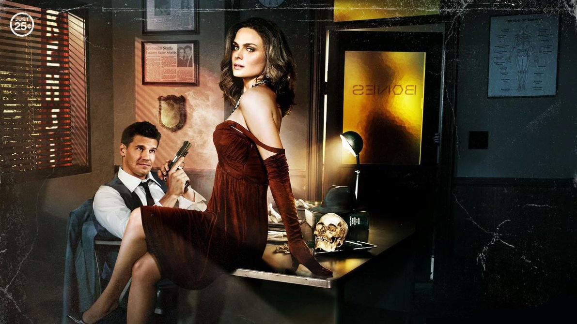 Bones - David Boreanaz and Emily Deschanel