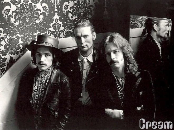 Jack Bruce, Ginger Baker and Eric Clapton