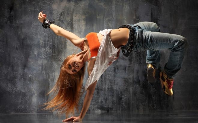 Girl Break Dancing