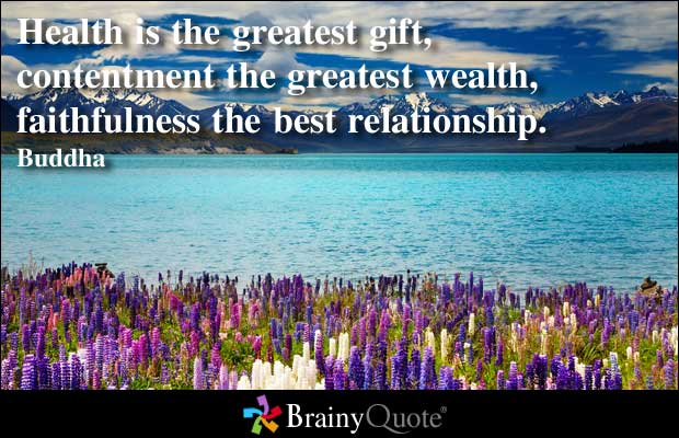 Health is the greatest gift… – - 55.2KB