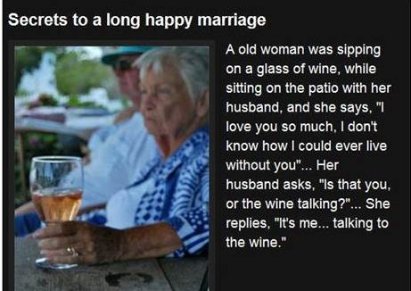 Marriage wine