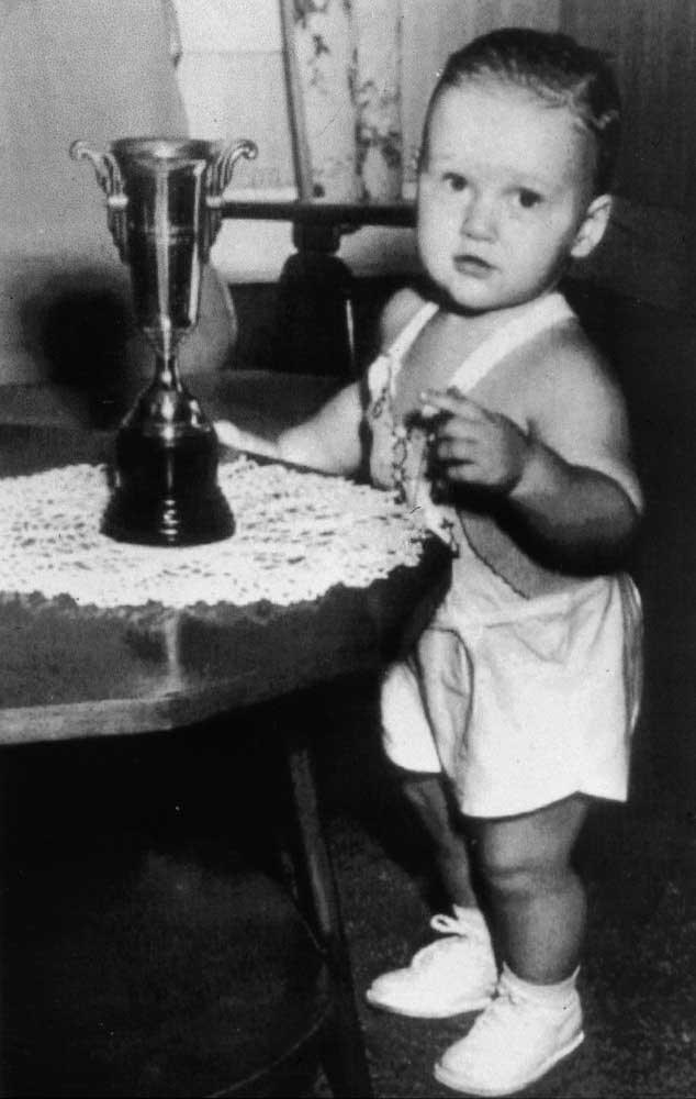 A young Bill Clinton, 1947.