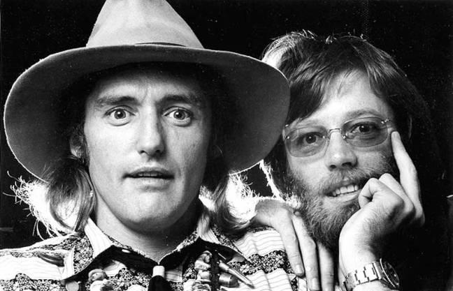 Dennis Hopper and Peter Fonda