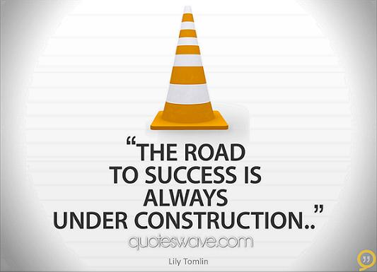 The-road-to-success-is-always