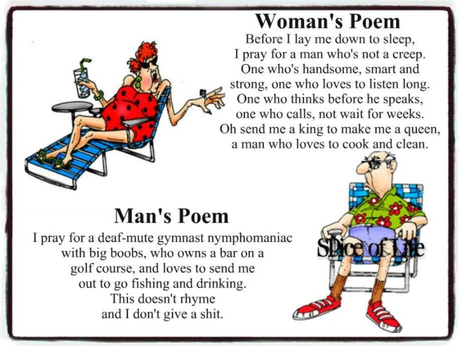 Woman vs Man