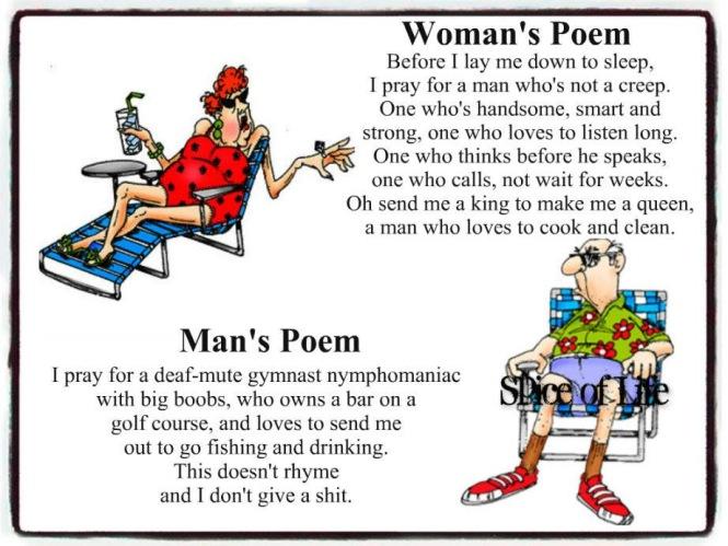 Woman vs Man