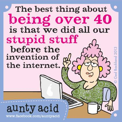 being over 40