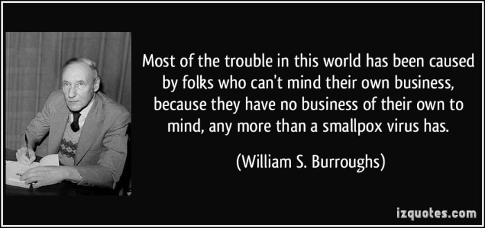 quote-most-of-the-trouble-in-this-world-has-been-caused-by-folks-who-can-t-mind-their-own-business-william-s-burroughs-28013