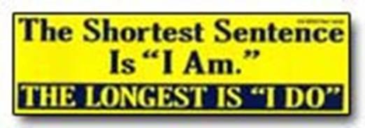 Shortest Sentence