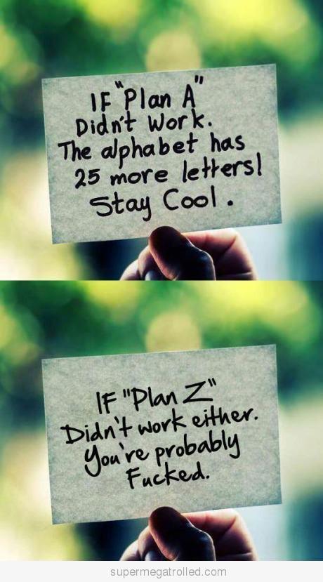 Back-up-Plan