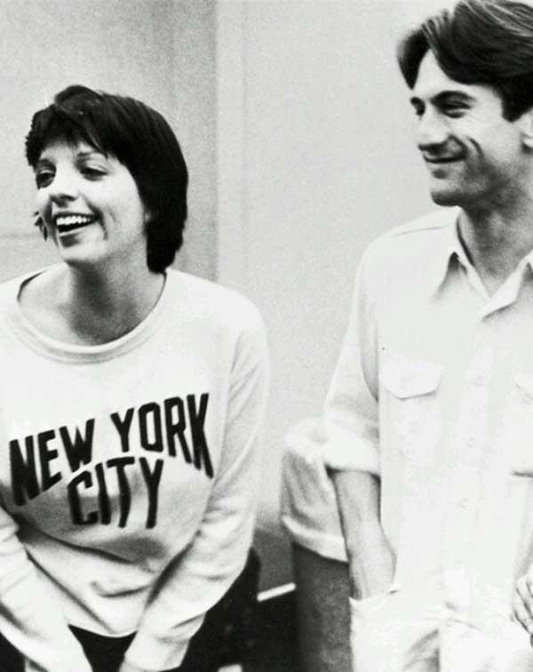 Liza Minnelli and Robert De Niro on the set of New York New York