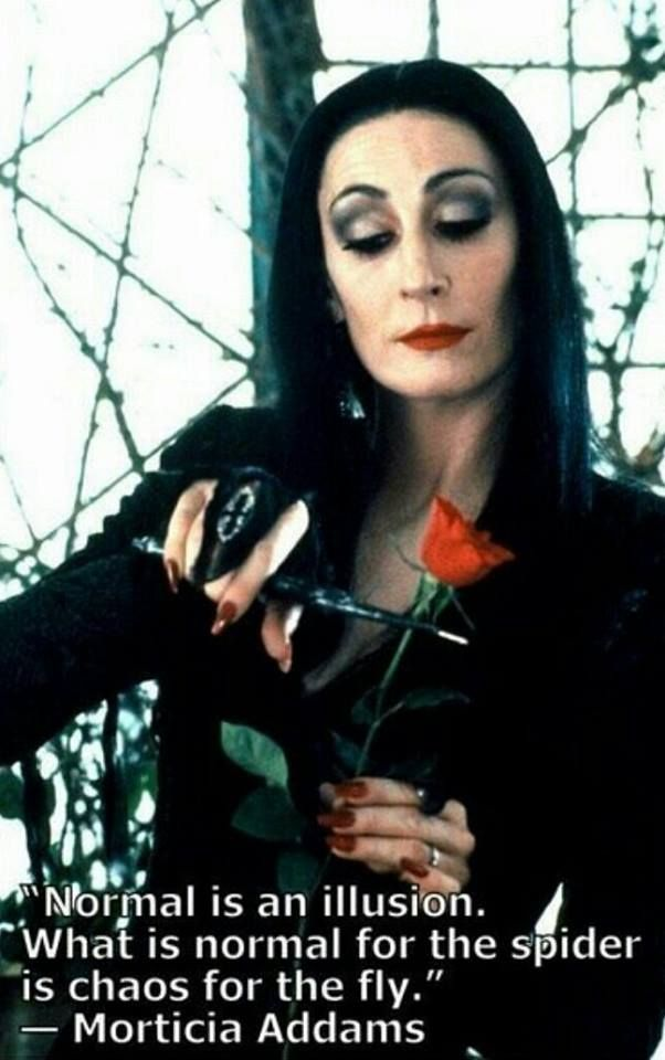 Morticia-Addams-Normal-is-an-illusion