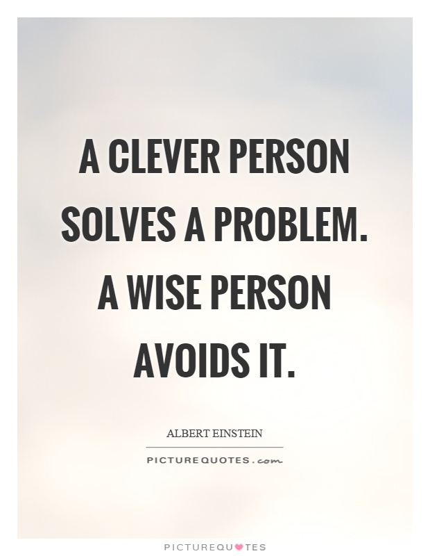 a-clever-person-solves-a-problem-a-wise-person-avoids-it-quote-1