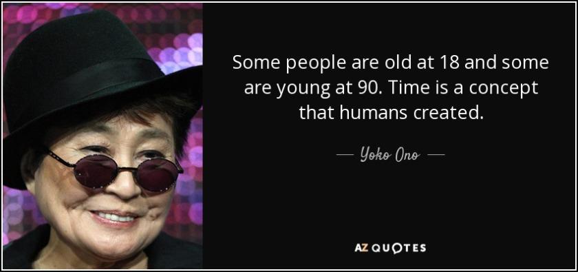 Yoko Ono A Pondering Mind
